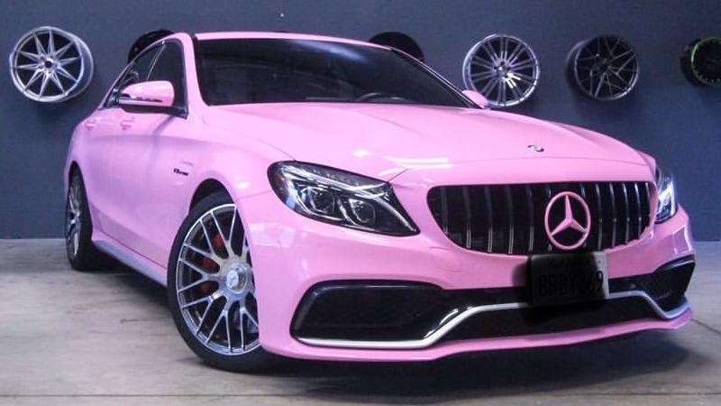 Gloss Bubblegum Pink wrap by @neighboywrap in South El Monte, CA