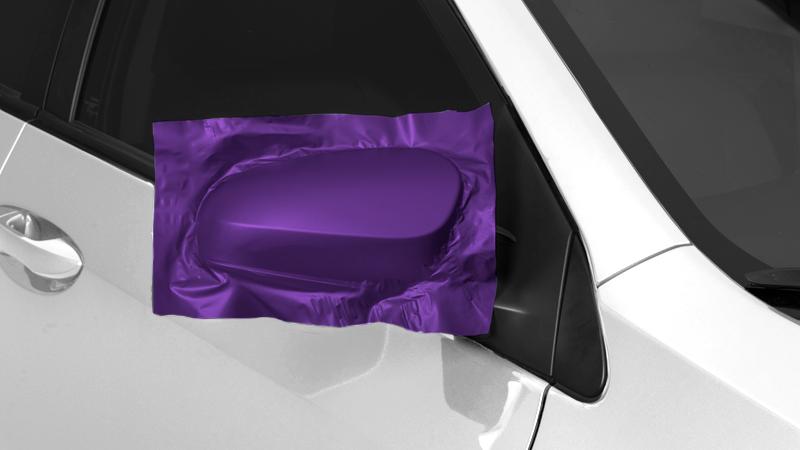 """60"""" Satin Passion Purple Aluminum"""