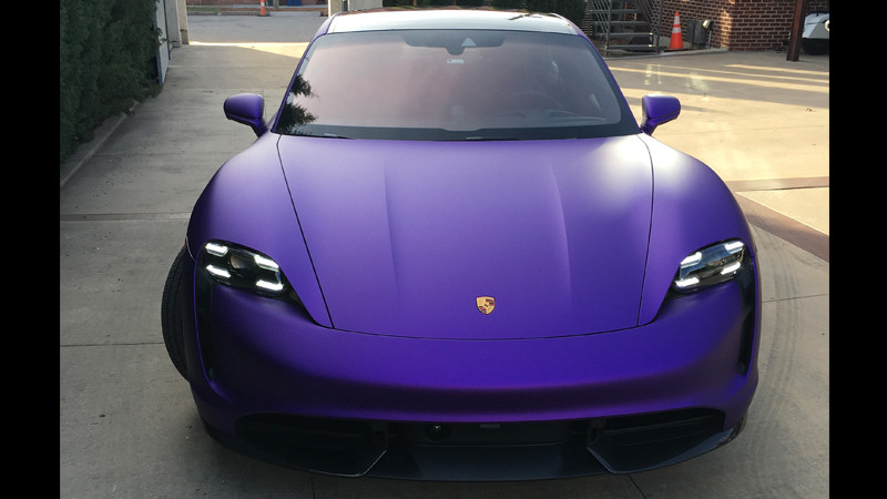 Satin Passion Purple Aluminum wrap by @boltedspine in Tulsa,OK