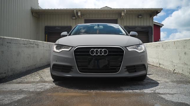 Matte Nardo Gray wrap by Explicit Restyling in Poconos, PA