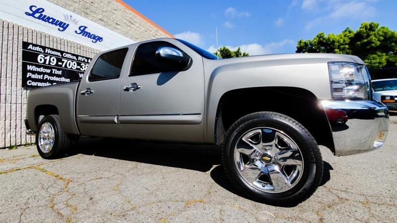 Satin Gray Aluminum wrap by MacWraps Inc. in San Diego, CA (@macwraps.inc)