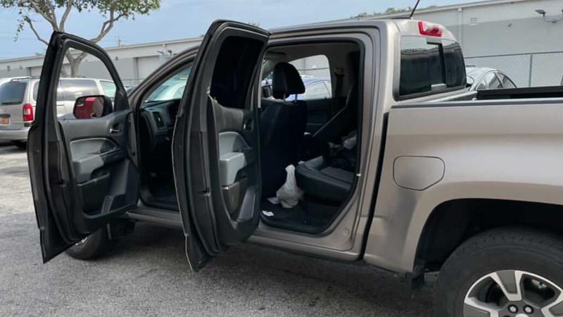 Satin Gray Aluminum wrap by @kleenkustoms in Miami, FL