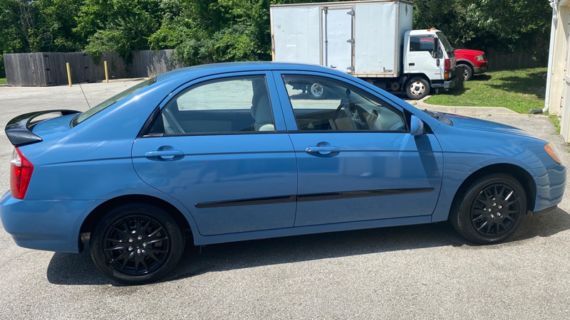 Gloss Cavalry Blue Gray wrap by Advertising & Event Solutions in Blue Springs, MO