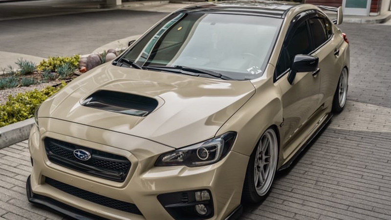 Gloss Sandstorm wrap by @celso_wrx in San Clemente, CA