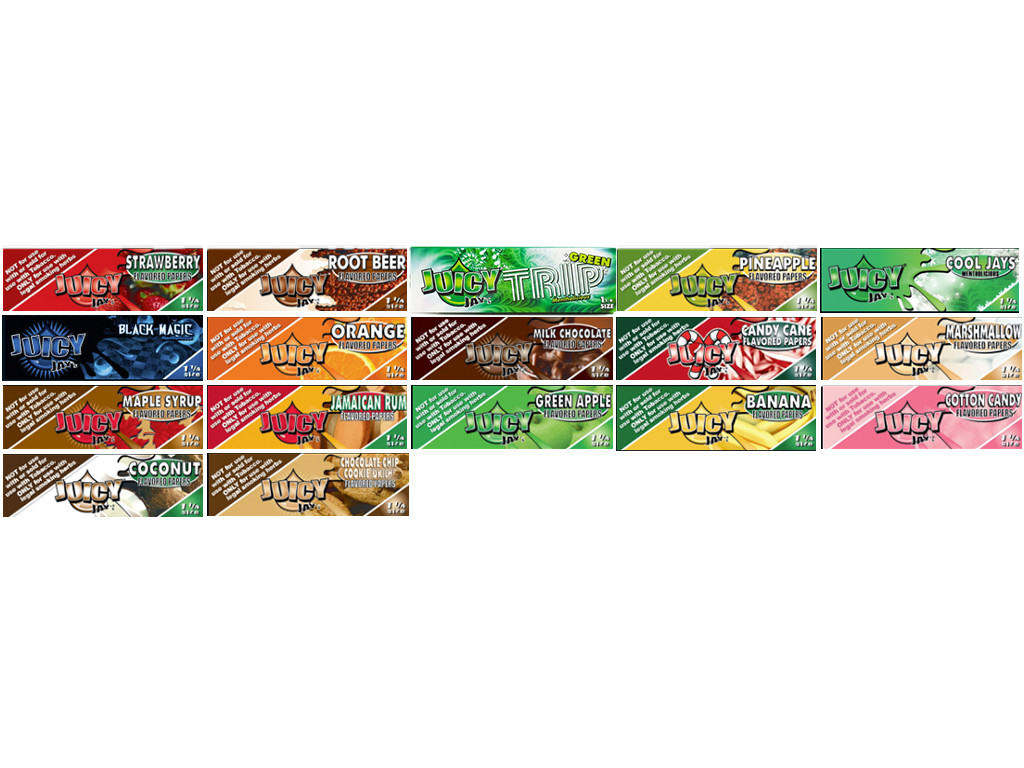 JUICY JAY'S Flavored Rolling Papers