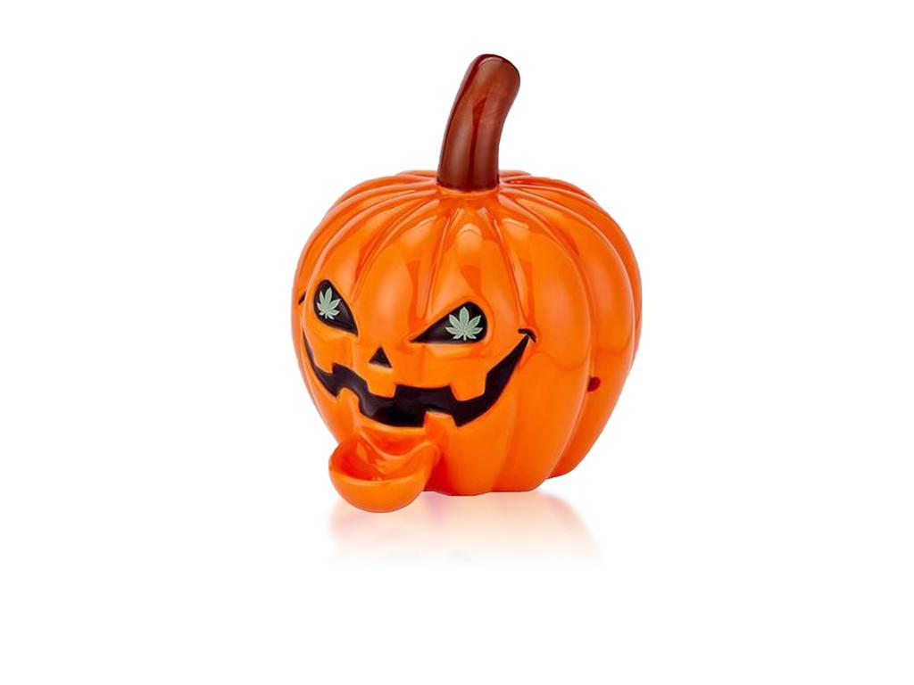 Ceramic Pumpkin Pipe