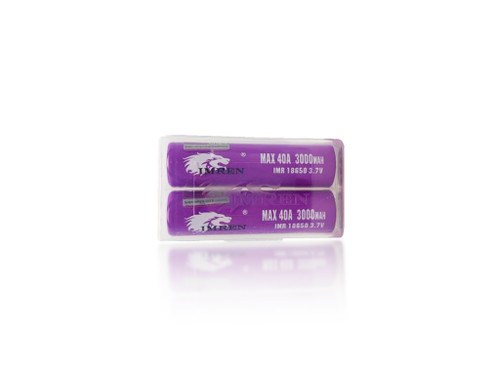 IMREN 18650 Batteries 3000mAh 40A(Pair)