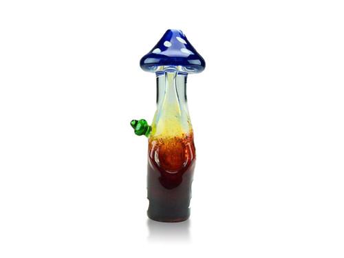 Glass Mushroom Hand Pipe