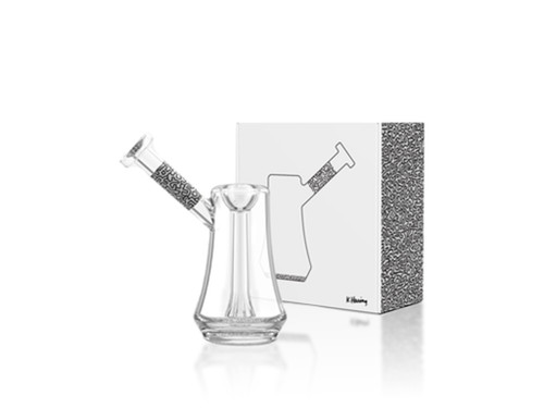 K. Haring Glass Bubbler