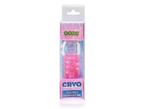 OOZE Cryo Glycerin Glass Pipe