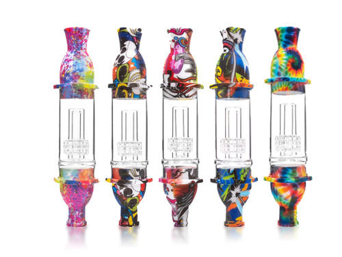 Silicone & Glass Nectar Collector
