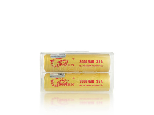 IMREN 18650 Batteries 3000mAh (Pair)