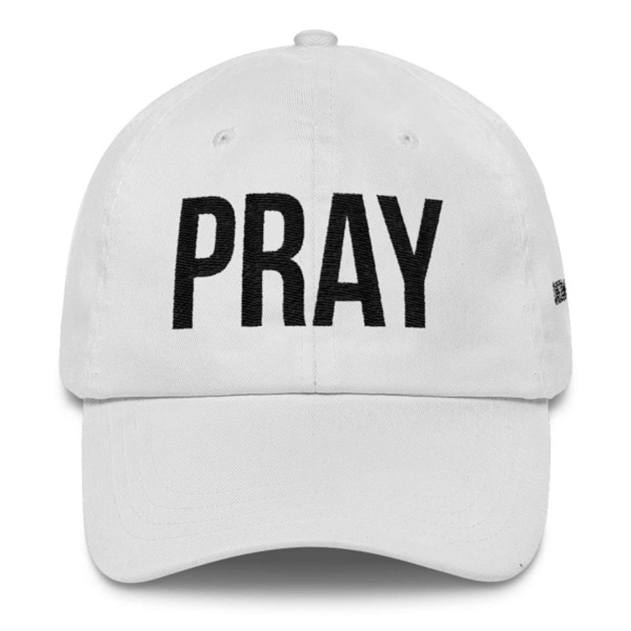 PRAY - Dad Hat - White