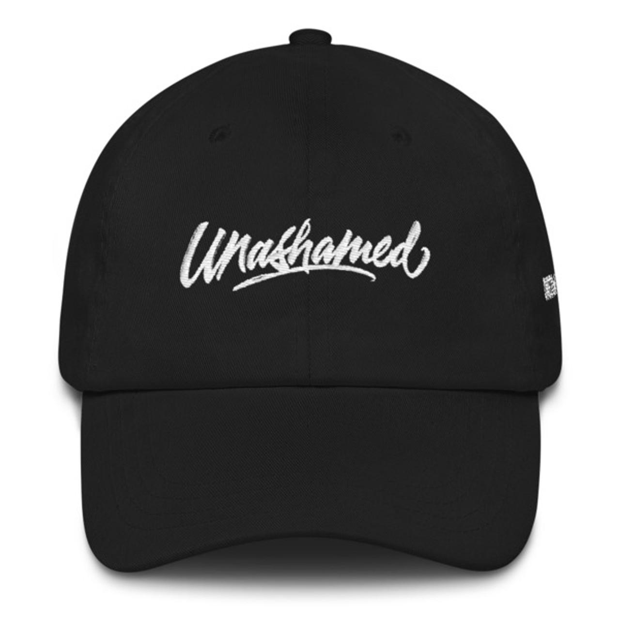 Unashamed - Dad hat - Black