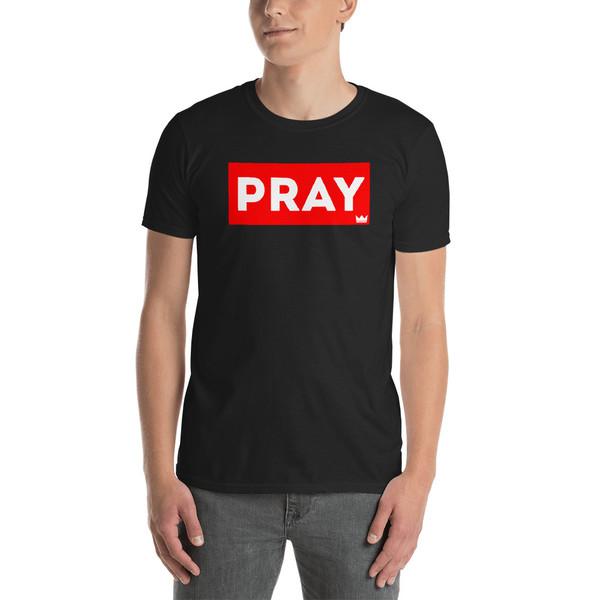 PRAY Box Tee - Short Sleeve Unisex T-Shirt