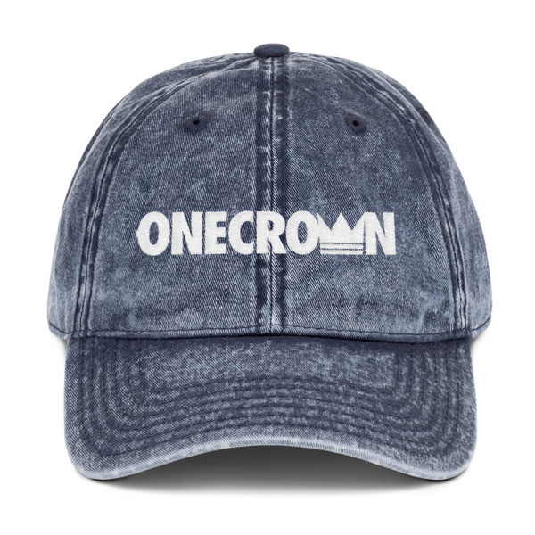 ONECROWN - Vintage Dad Hat