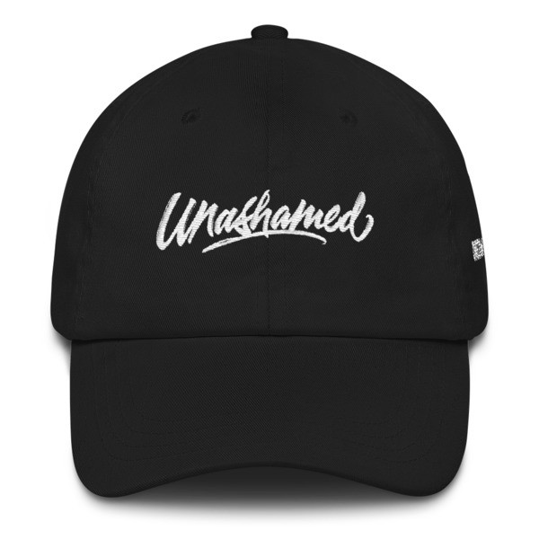 Unashamed - Dad hat - Black