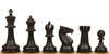 Guardian Carry-All Plastic Chess Set Black & Camel Pieces with Black Roll-up Chess Board & Bag