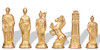 Romans & Barbarians Theme Metal Chess Set by Italfama