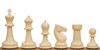 "Guardian Plastic Chess Set Black & Ivory Pieces - 4"" King"