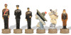 Pearl Harbor Theme Chess Set Japanese Pieces