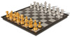 """The Chess Store Gold & Silver Folding Magnetic Travel Chess Set - 12.5"""""""