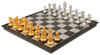 The Chess Store Gold & Silver Folding Magnetic Travel Chess Set - 14""