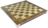 "Brass & Brown Chess Board - 1.75"" Squares"