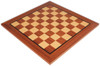 "Mahogany & Maple Classic Chess Board with 2"" Squares"