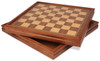 """Deluxe Chess & Backgammon Case with Lift-Top Board - 17.5"""""""
