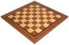 "Walnut & Maple Classic Chess Board -with 1.6"" Squares"
