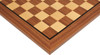 """Walnut & Maple Classic Chess Board with 2"""" Squares Closeup"""