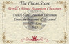"French Lardy Staunton Chess Set Ebonized and Boxwood Pieces 3.25"" King Certificate"