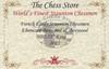 "French Lardy Staunton Chess Set Ebonized and Boxwood Pieces 2.75"" King Certificate"