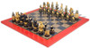 Large American Civil War Theme Chess Set with Civil War Deluxe Chess Board