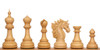 "Bucephalus Staunton Chess Set Boxwood Pieces 4.5"" King"