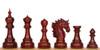 "Bucephalus Staunton Chess Set Padauk Pieces 4.5"" King"