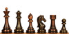 "Staunton Copper & Bronze Finish Chess Set - 4.25"" King"