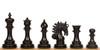 """Marengo Staunton Chess Set Ebony Pieces 4.25"""" King"""