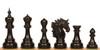 "Bucephalus Staunton Chess Set Ebony Pieces 4.5"" King"