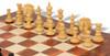 Strategos Staunton Chess Set in Ebony & Boxwood with Elm Burl & Erable Chess Board
