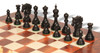 Bucephalus Staunton Chess Set in Ebony & Boxwood with Elm Burl & Erable Chess Board