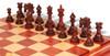 Marengo Staunton Chess Set in Padauk & Boxwood with Padauk & Maple Mission Craft Chess Board