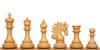 Marengo Staunton Chess Set in Ebony & Boxwood with Elm Burl & Erable Chess Board