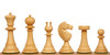 English Upright Antique Reproduction Chess Set Golden Rosewood & Boxwood with Classic Walnut Chess Board