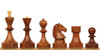 Soviet Era Russian Antique Reproduction Chess Set Golden Rosewood Chess Pieces