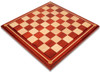 Bucephalus Staunton Chess Set Padauk & Boxwood Pieces with Mission Craft Padauk Chess Board