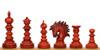 """Marengo Staunton Chess Set Padauk Pieces 4.25"""" King"""