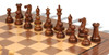 "New Exclusive Staunton Chess Set Acacia & Boxwood Pieces with Classic Walnut Chess Board - 4"" King"