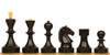 Russian Soviet Era Antique Reproduction Chess Set Boxwood Chess Pieces